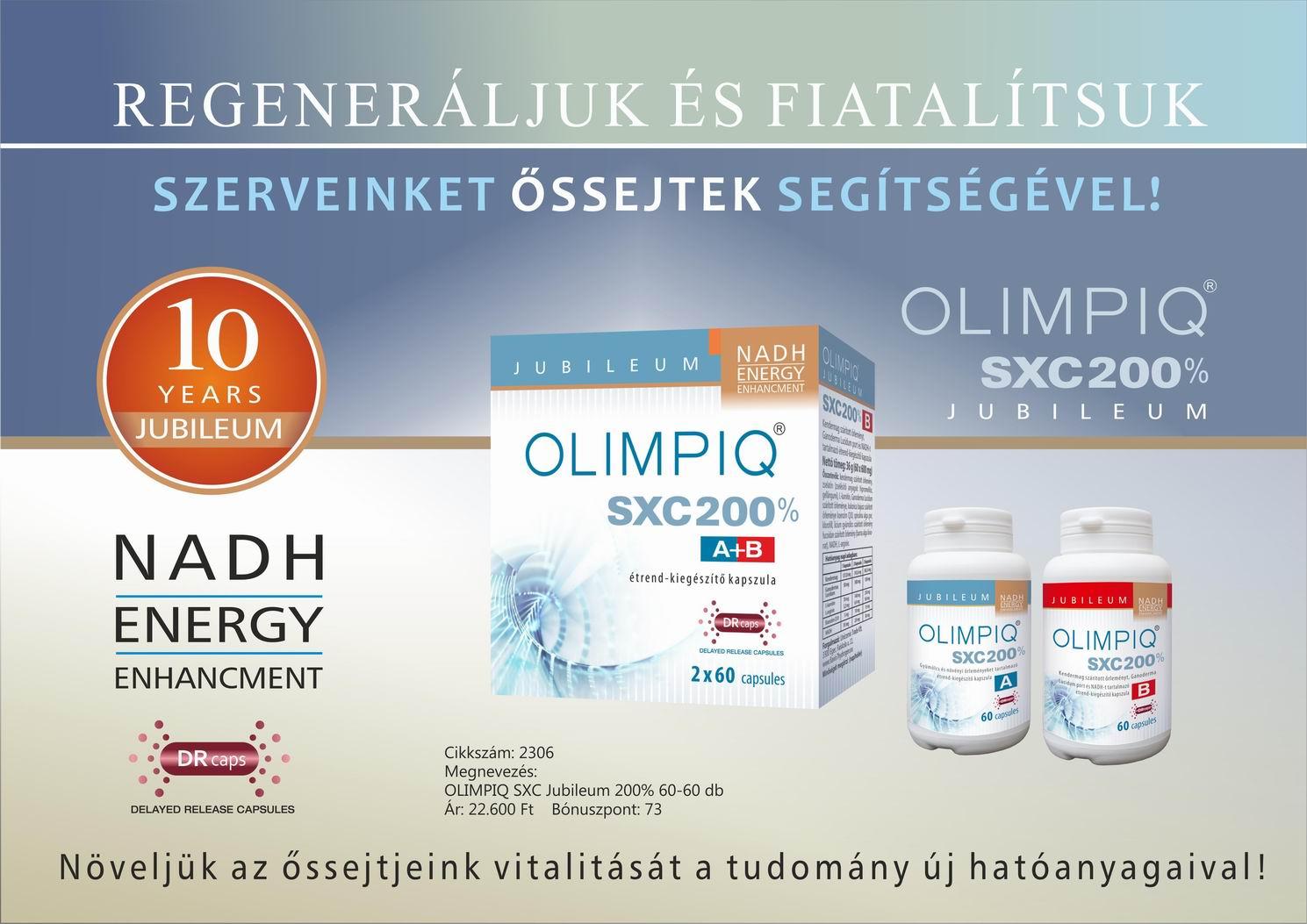 OLIMPIQ SXC SL őssejt fokozó vásárlás