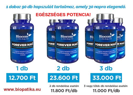 Biocom Forever man kapszula vásárlás