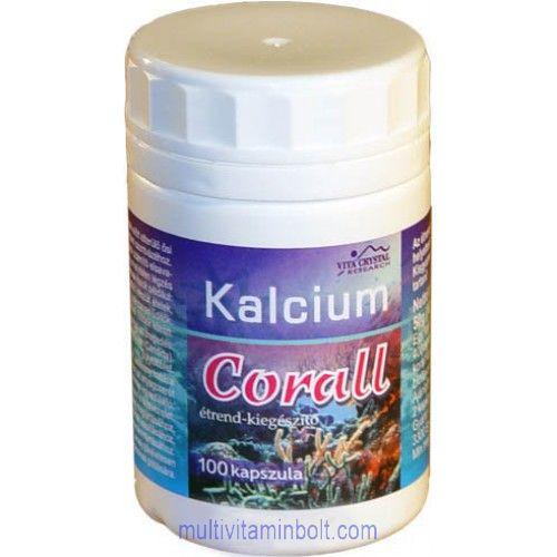 Corall Kalcium kapszula (100db)