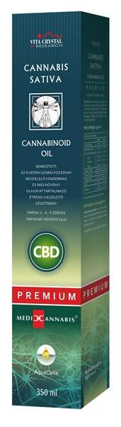 CBD Olaj - Cannabis Sativa Cannabinoid Oil Prémium