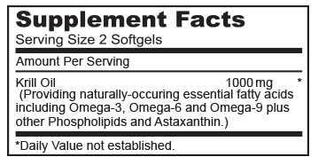 krill olaj összetevők