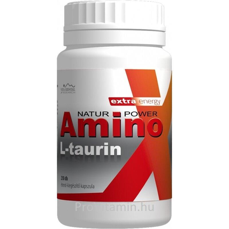 Amino L-taurin kapszula flavin7