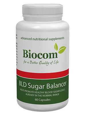 BIOCOM BLD SUGAR BALANCER, CUKORBETEGSÉG ELLEN - Biocom