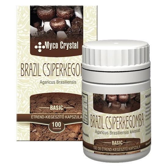Myco Crystal Brazil csiperkegomba kapszula webáruház