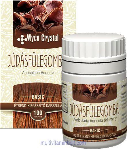 Myco Crystal Júdásfülegomba kapszula