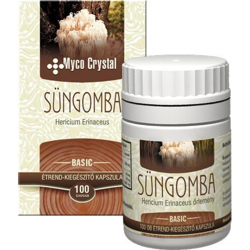 Myco Crystal Süngomba kapszula vásárlás