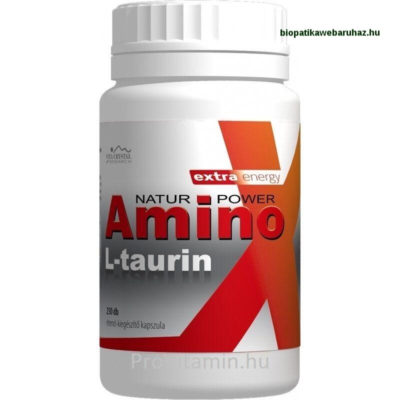 AMINO L-TAURIN KAPSZULA 250 db flavin7