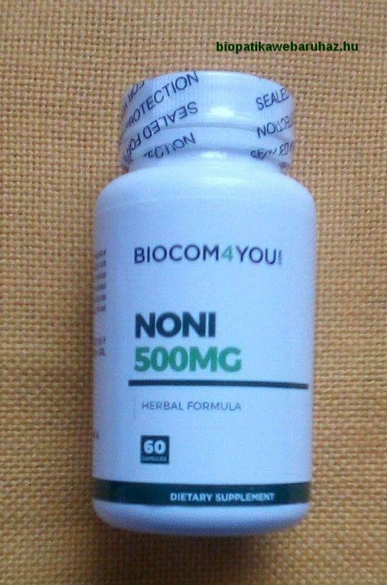 NONI KAPSZULA 100% NÖVÉNYI KIVONAT - Biocom
