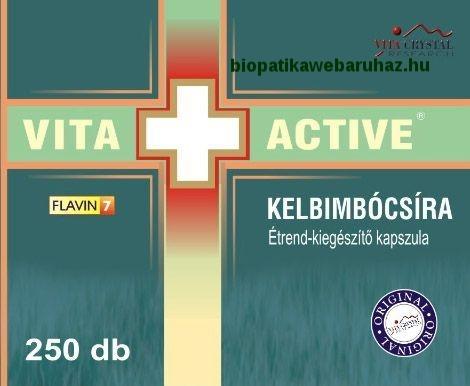 VITA + ACTIVE Kelbimbócsíra kapszula CUKORBETEGSÉG ELLEN>>