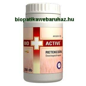 Vita+Active Retekcsíra kapszula (250db) TERMÉSZETES ANTIBIOTIKUM, FÉREGŰZŐ