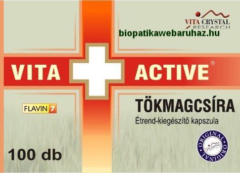 Vita+Active TÖKMAGCSÍRA kapszula - PROSZTATA BETEGSÉGEKRE