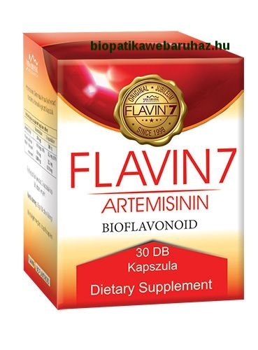 ARTEMISININ FLAVIN7 30 DB daganat ellenes