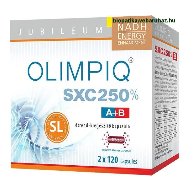 Olimpiq SXC SL Jubileum 250% DR kapszula 2 x120db