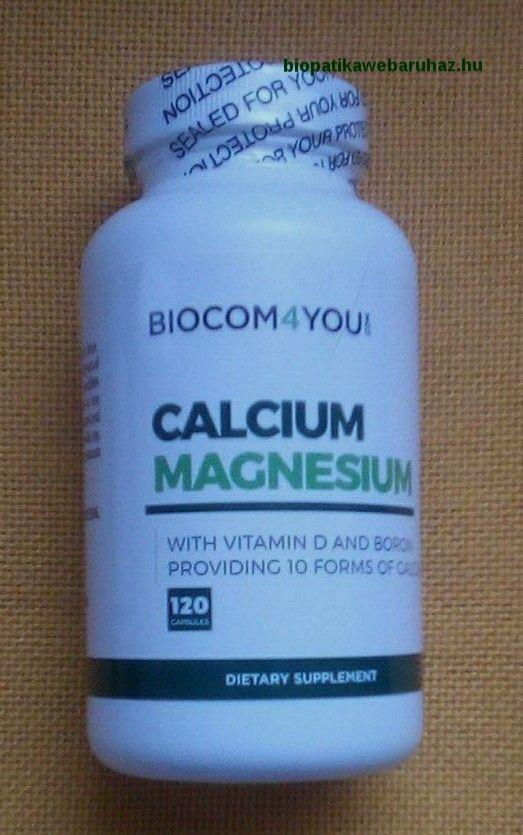 Kalcium - magnézium kapszula D3 vitaminnal