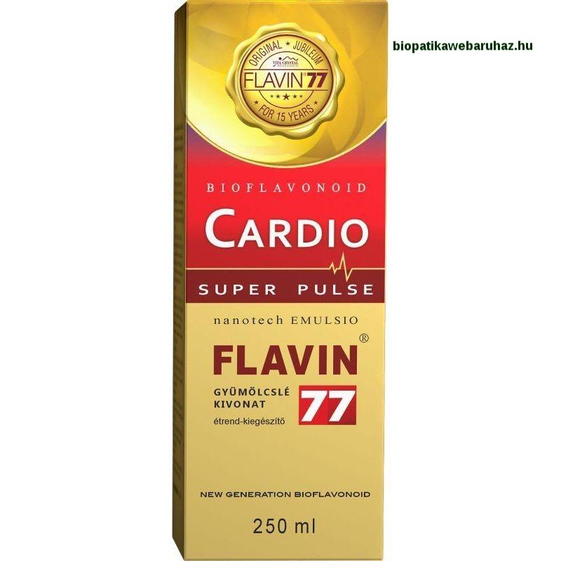 Flavin77 Cardio Super Pulse szirup (250ml) SZÍV ÉS ÉRRENDSZER VÉDŐ