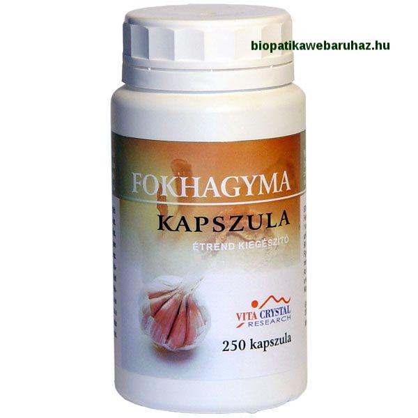 Vita-Crystal Fokhagyma kapszula 250db