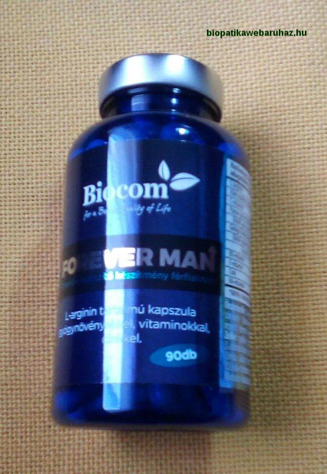 BIOCOM FOREVER MAN férfiasság gyógynövényekkel