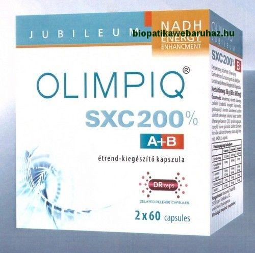 Olimpiq SXC Jubileum 200% kapszula