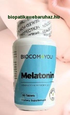 MELATONIN - biocom - TERMÉSZETES ALVÁSHORMON
