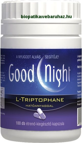 GoodNight, L-thriptophan kapszula