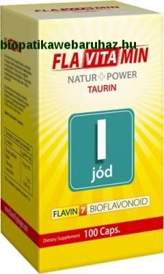 Jód tabletta Flavitamin 100db