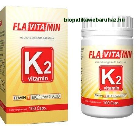 K2-vitamin kapszula – 100db Flavin7 Flavitamin