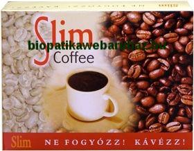 Slim Coffee - Zöld kávé és pörkölt kávé keverék
