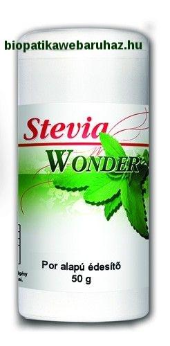Stevia Wonder por alapú édesítő - St.VIA Wonder por