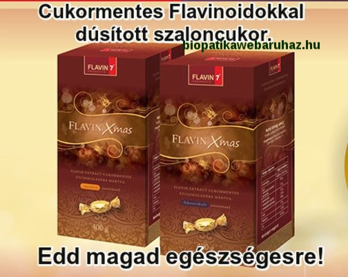 Flavin Xmas cukormentes szaloncukor (400g)