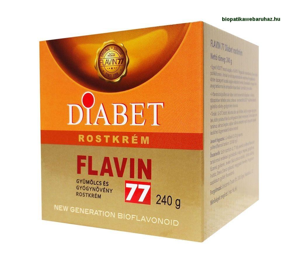 Flavin77 Diabet rostkrém cukorbetegeknek