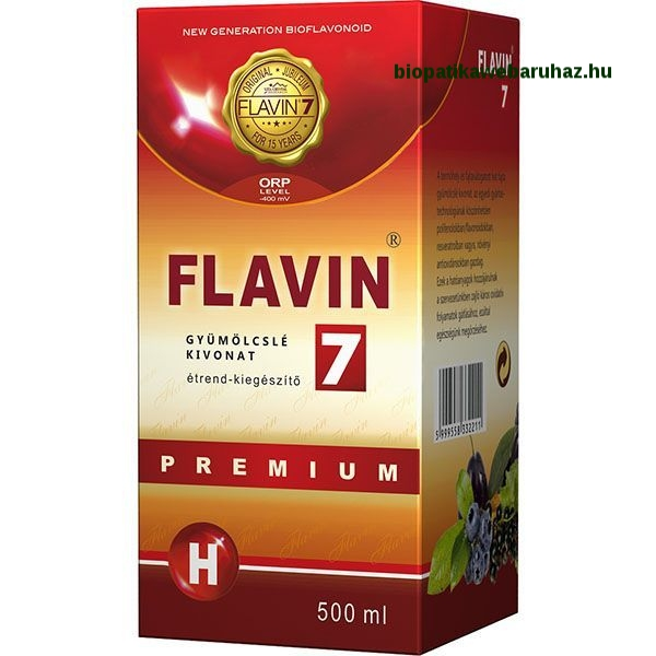 Flavin7 Premium ital 500ml Hidrogénnel