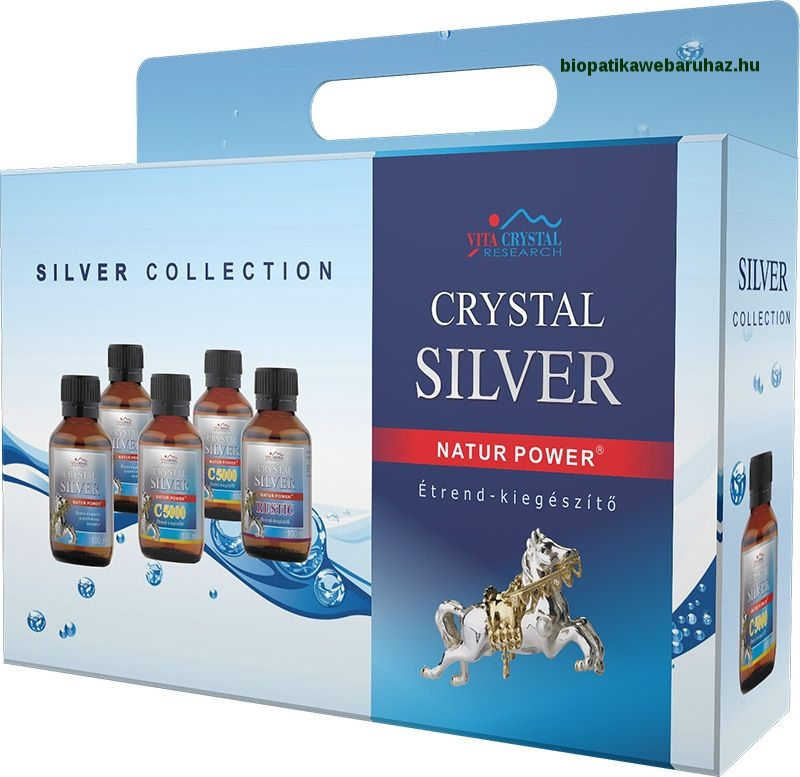 Crystal Silver Collection (5x100ml)