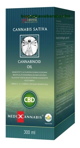 CBD Cannabis Sativa Cannabinoid Oil - 300ml