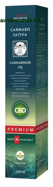 CBD Cannabis Sativa Cannabinoid Oil Prémium - 350ml