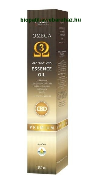 CBD Omega3 Essence oil PRÉMIUM 350ml
