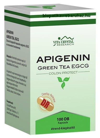 Apigenin + Green tea EGCG DR kapszula 100db