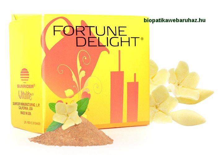 Sunrider Fortune Delight – Karcsúsító, nyirokrendszer-tisztító ital 10x3 g