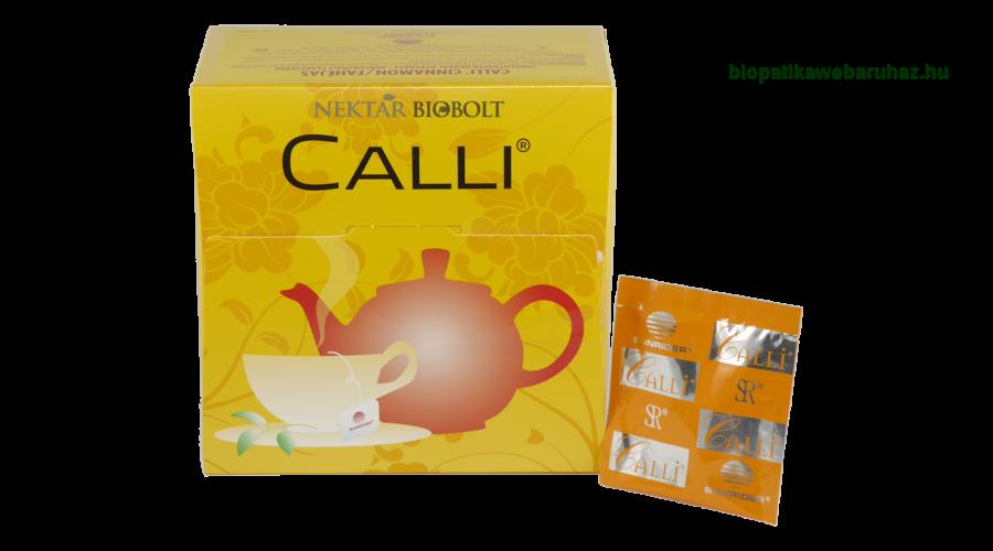 Sunrider Calli – Sejttisztító tea - 60db