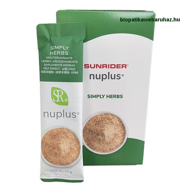 Sunrider NuPlus – Ízletes növényi élelmiszer 10db