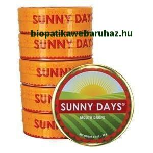 Sunrider Sunny Days – Leheletfrissítő és emésztéssegítő cukormentes cukorka