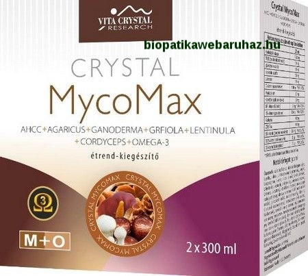 Crystal MycoMax Omega-3 Essence AHCC 2x300ml