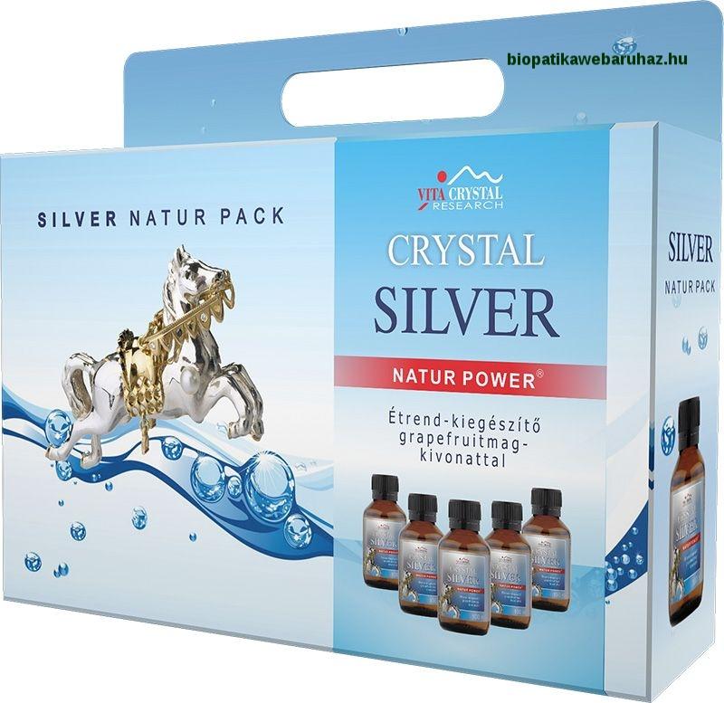 Crystal Silver Natur ezüst kolloid baktérium és vírusellenes
