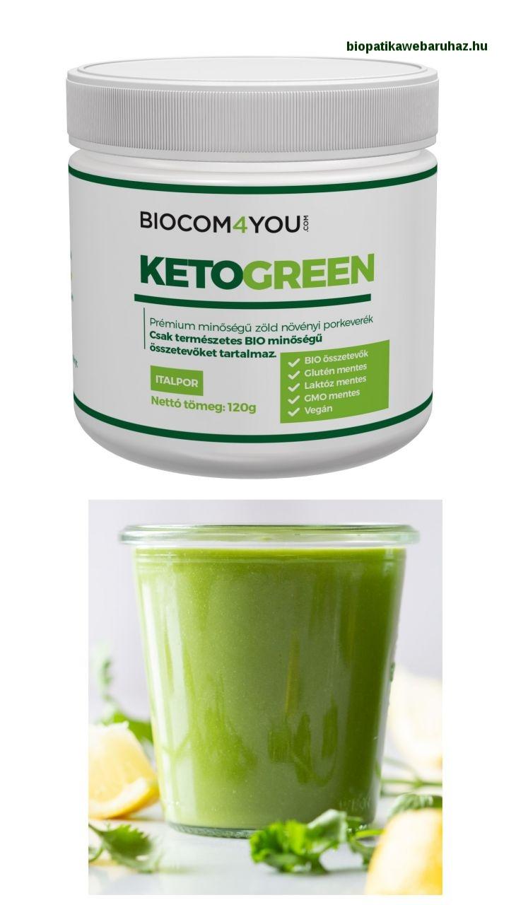 KetoGreen – Növényi élelmiszer - biocom 4you