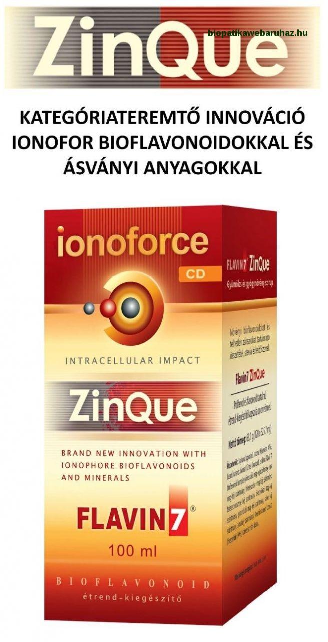Flavin7 ZinQue Ionoforce Cink ital