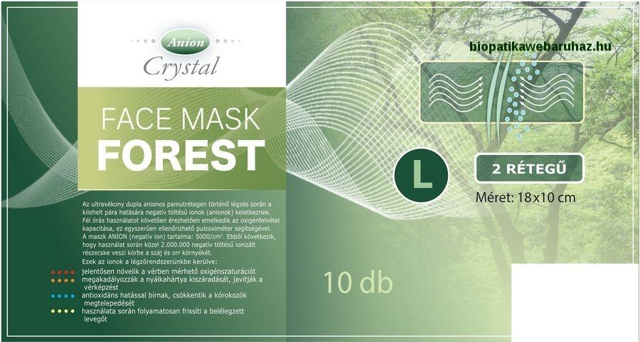 Face mask Forest - Dupla Anionos arcmaszk
